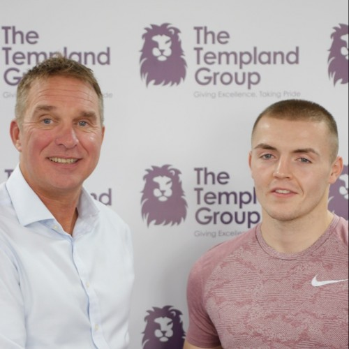 Templand Group backs boxer Beardow